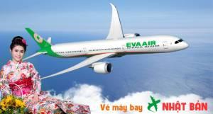 Eva Air khuyến mãi lớn cho chuyến bay từ Hồ Chí Minh đến Nhật
