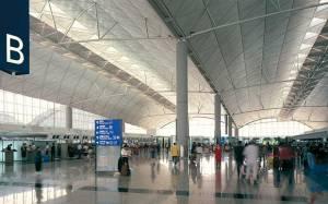 Lác mắt với thiết kế siêu hoành tráng của sân bay Quốc Tế Hồng Kông