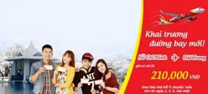 Vietjet Air: tưng bừng khai trương đường bay mới từ Tp.HCM đi Đài Trung (Đài Loan)