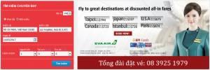 Cách đặt vé máy bay tại Vaness Booking