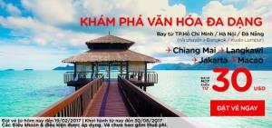 KHÁM PHÁ VĂN HÓA ĐA DẠNG cùng Air Asia đi Chiang Mai với giá chỉ từ 30 USD