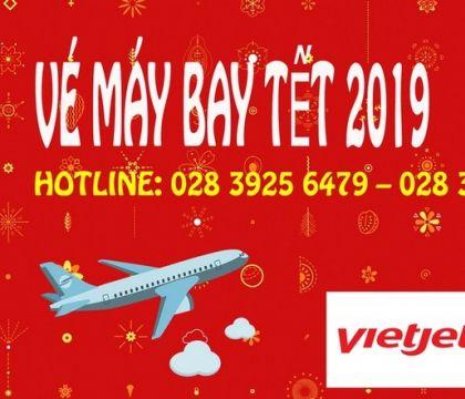 Vé máy bay Tết 2019 hãng VietJet Air