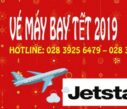 Vé máy bay Tết 2019 hãng Jetstar