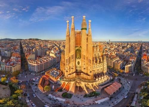 Vé máy bay đi Barcelona giá rẻ